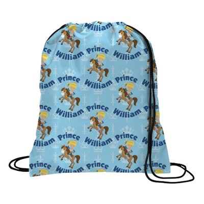 Custom Prince Drawstring Backpack (Personalized)