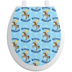 Custom Prince Toilet Seat Decal (Personalized)