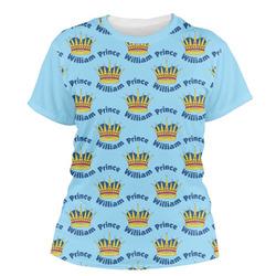 Custom Prince Women's Crew T-Shirt (Personalized)