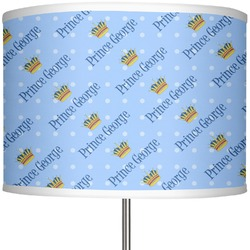 """Prince 13"""" Drum Lamp Shade (Personalized)"""