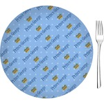 Prince Glass Appetizer / Dessert Plates 8