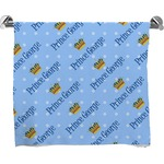 Prince Full Print Bath Towel (Personalized)