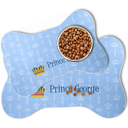 Prince Bone Shaped Dog Food Mat (Personalized)