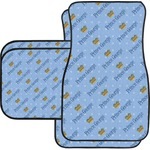 Prince Car Floor Mats Set - 2 Front & 2 Back (Personalized)