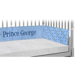 Prince Crib Bumper Pads (Personalized)