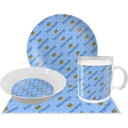 Prince Dinner Set - 4 Pc (Personalized)