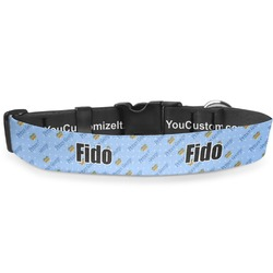 """Prince Deluxe Dog Collar - Small (8.5"""" to 12.5"""") (Personalized)"""
