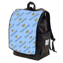 Prince Backpack w/ Front Flap  (Personalized)