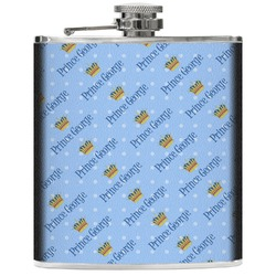 Prince Genuine Leather Flask (Personalized)