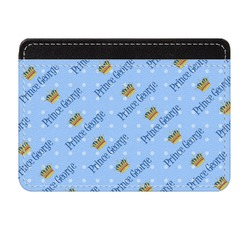 Prince Genuine Leather Front Pocket Wallet (Personalized)