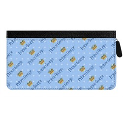 Prince Genuine Leather Ladies Zippered Wallet (Personalized)