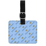 Prince Genuine Leather Rectangular  Luggage Tag (Personalized)