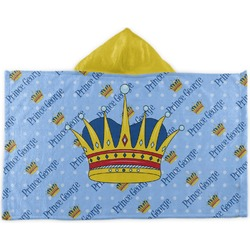 Prince Kids Hooded Towel (Personalized)