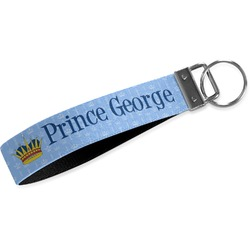Prince Webbing Keychain Fob - Small (Personalized)