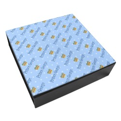 Prince Leatherette Keepsake Box - 8x8 (Personalized)