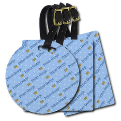Prince Plastic Luggage Tags (Personalized)