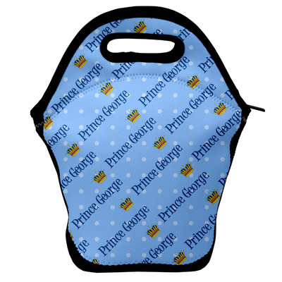 Prince Lunch Bag w/ Name All Over