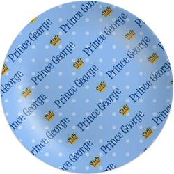 "Prince Melamine Plate - 8"" (Personalized)"