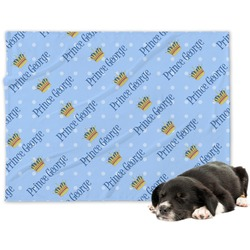 Prince Minky Dog Blanket - Regular (Personalized)