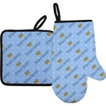 Prince Oven Mitt & Pot Holder (Personalized)