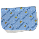 Prince Burp Cloth - Fleece w/ Name All Over