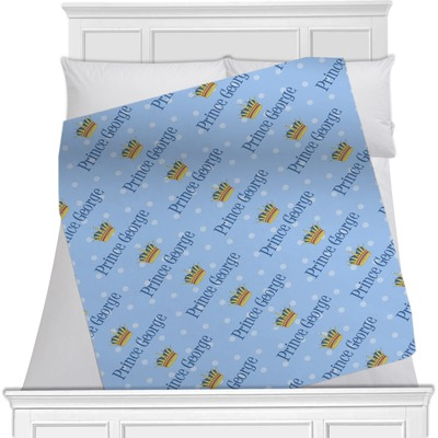 Prince Minky Blanket (Personalized)