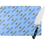 Prince Rectangular Glass Cutting Board (Personalized)