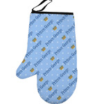 Prince Left Oven Mitt (Personalized)