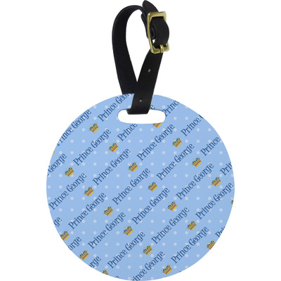 Prince Round Luggage Tag (Personalized)