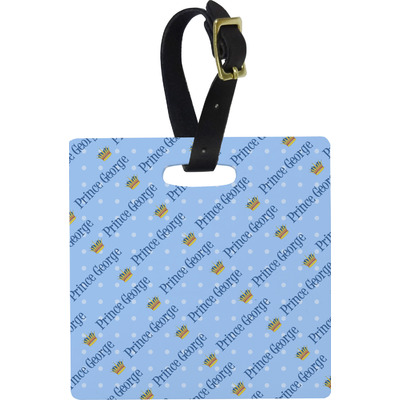 Prince Square Luggage Tag (Personalized)