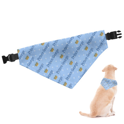 Prince Dog Bandana (Personalized)