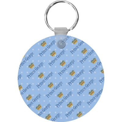 Prince Round Keychain (Personalized)