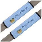 Prince Seat Belt Covers (Set of 2) (Personalized)
