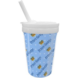 Prince Sippy Cup with Straw (Personalized)