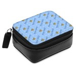 Prince Small Leatherette Travel Pill Case (Personalized)