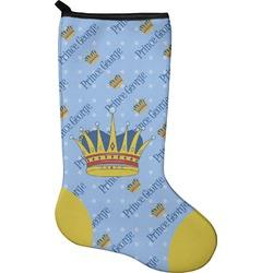 Prince Christmas Stocking - Neoprene (Personalized)