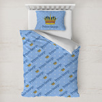 Prince Toddler Bedding w/ Name All Over