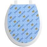 Prince Toilet Seat Decal (Personalized)