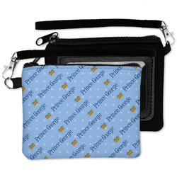Prince Wristlet ID Case w/ Name All Over