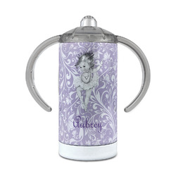Ballerina 12 oz Stainless Steel Sippy Cup (Personalized)