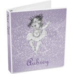 Ballerina 3-Ring Binder (Personalized)