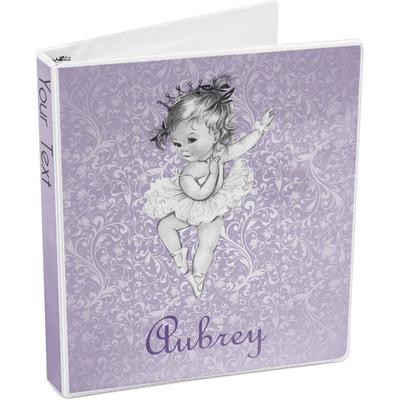 Ballerina 3-Ring Binder (Personalized)