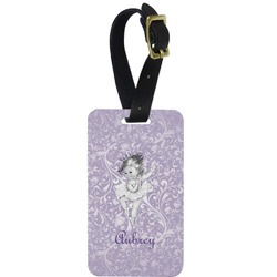 Ballerina Aluminum Luggage Tag (Personalized)