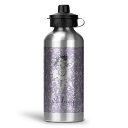 Ballerina Water Bottle - Aluminum - 20 oz (Personalized)
