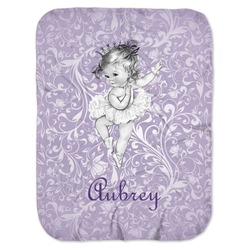 Ballerina Baby Swaddling Blanket (Personalized)