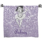 Ballerina Full Print Bath Towel (Personalized)