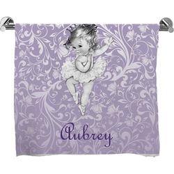 Ballerina Bath Towel (Personalized)