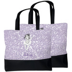 Ballerina Beach Tote Bag (Personalized)