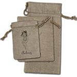 Ballerina Burlap Gift Bags (Personalized)
