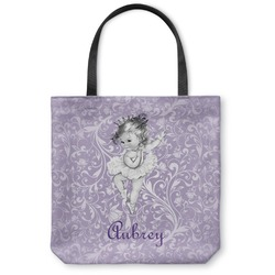 Ballerina Canvas Tote Bag (Personalized)